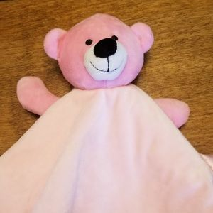 Other - 🌺 Pink Bear security blankie